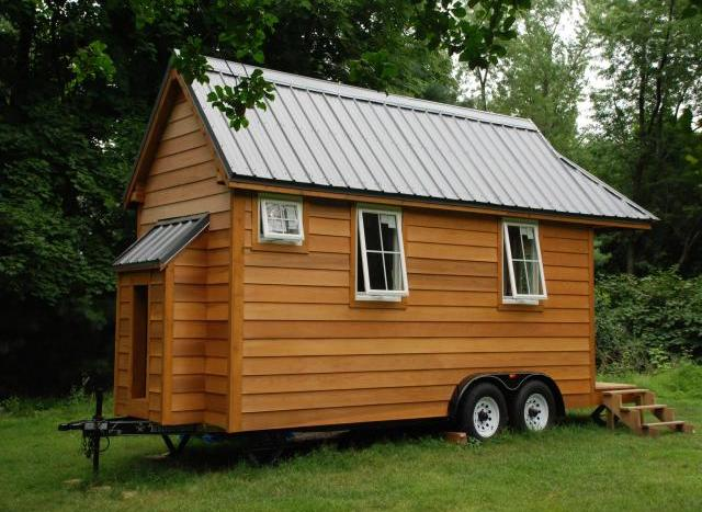 Tumbleweed cypress finished shell micro houses for sale for Tiny house search